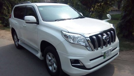 Toyota Prado latest model